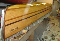 Valerie Welch -  Canoe Building Projects